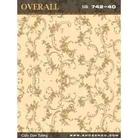 Overall wallpaper 742-40