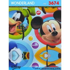 Giấy dán tường Wondereland 3674