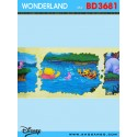 Wondereland wallpaper BD3681