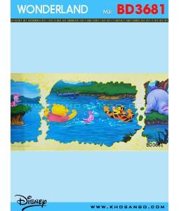 Wondereland wallpaper BD3681