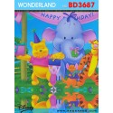 Wondereland wallpaper BD3687