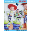 Wondereland wallpaper BD3740