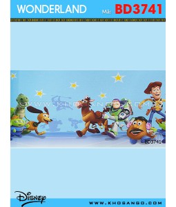 Wondereland wallpaper BD3741