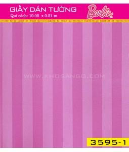 Giấy dán tường Barbie 3595-1