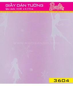 Giấy dán tường Barbie 3604