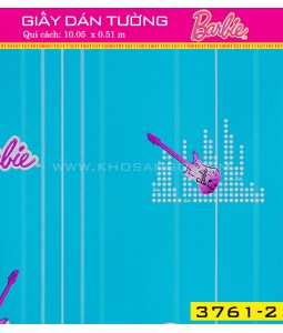 Giấy dán tường Barbie 3761-2