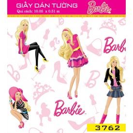 Giấy dán tường Barbie 3762