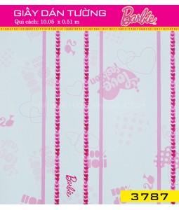 Giấy dán tường Barbie 3787