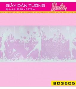 Giấy dán tường Barbie BD3605