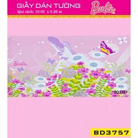 Giấy dán tường Barbie BD3757