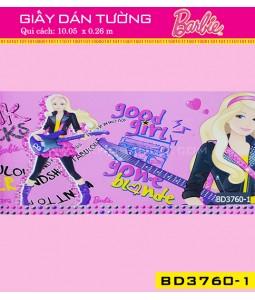 Giấy dán tường Barbie BD3760-1