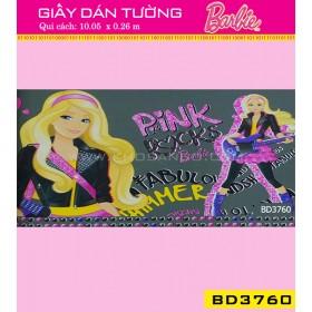 Giấy dán tường Barbie BD3760
