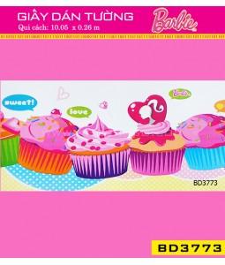 Giấy dán tường Barbie BD3773