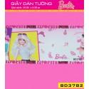 Giấy dán tường Barbie BD3782