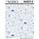 Soho wallpaper 56037-2