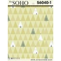 Soho wallpaper 56040-1