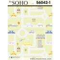 Soho wallpaper 56042-1
