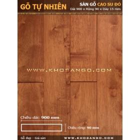 Sàn gỗ cao su đỏ 900mm