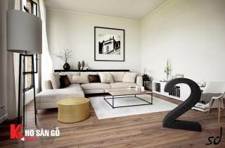 Bộ sưu tập sàn gỗ phòng khách cho mùa đông này