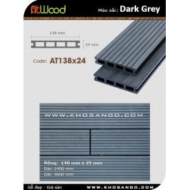 Sàn gỗ ngoài trời ATwood AT138x24-Darkgrey