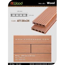 Sàn gỗ ngoài trời ATwood AT138x24-Wood
