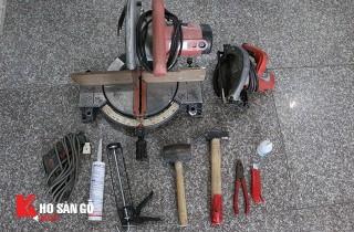 Hướng dẫn lắp đặt, thi công sàn nhựa hèm khóa Wellmark