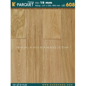 Sàn gỗ sồi engineer 15x125x900 (608)