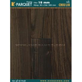 Sàn gỗ chiu liu Engineer 15x90x900