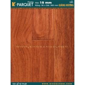 Sàn gỗ Hương Engineered 90x900