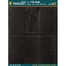 Sàn gỗ sồi engineer 15x125x900 (607)
