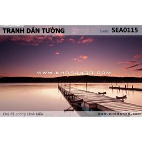 Tranh dán tường phong cảnh biển SEA115