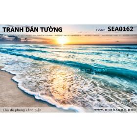 Tranh dán tường phong cảnh biển SEA162
