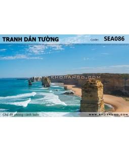 Tranh dán tường phong cảnh biển SEA086