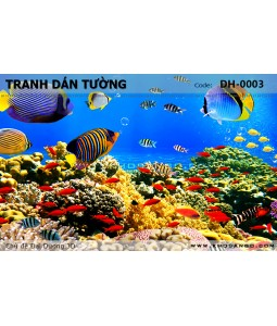 Ocean 3D wall paintings DH-0003