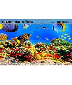 Tranh dán tường Đại Dương 3D DH-0003