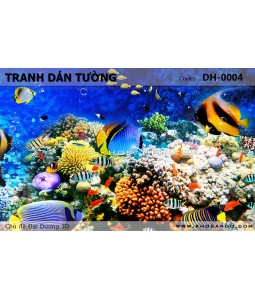 Ocean 3D wall paintings DH-0004