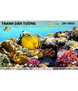 Ocean 3D wall paintings DH-0008