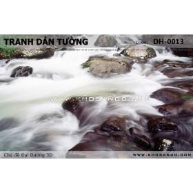 Tranh dán tường Đại Dương 3D DH-0013