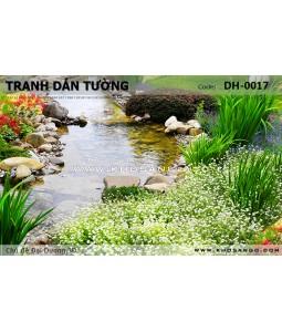 Tranh dán tường Đại Dương 3D DH-0017