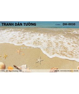 Ocean 3D wall paintings DH-0030