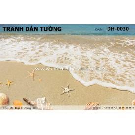 Tranh dán tường Đại Dương 3D DH-0030