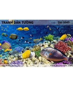 Ocean 3D wall paintings DH-0045
