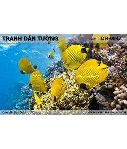 Ocean 3D wall paintings DH-0047