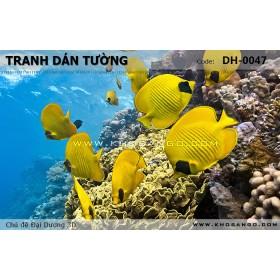 Tranh dán tường Đại Dương 3D DH-0047
