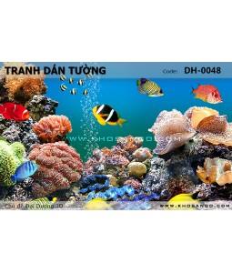Ocean 3D wall paintings DH-0048