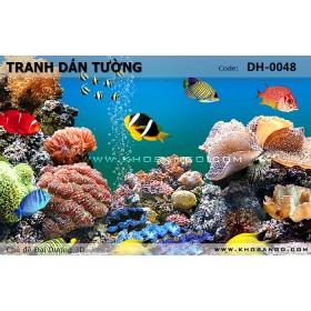 Tranh dán tường Đại Dương 3D DH-0048