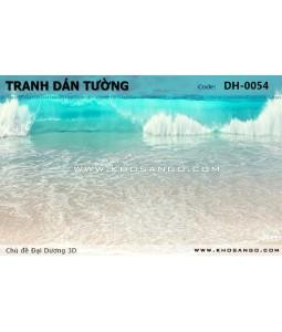 Ocean 3D wall paintings DH-0054