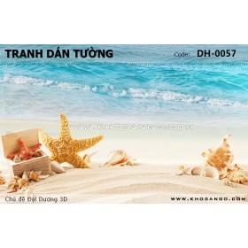 Tranh dán tường Đại Dương 3D DH-0057