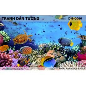 Tranh dán tường Đại Dương 3D DH-0066