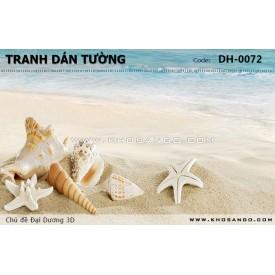 Tranh dán tường Đại Dương 3D DH-0072